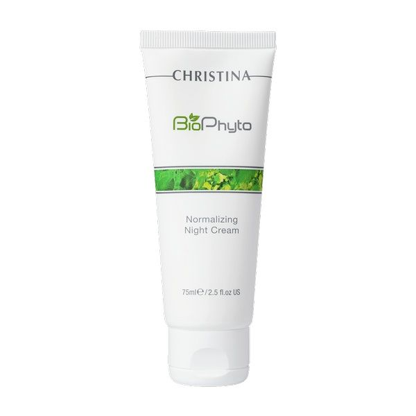 Нормализующий ночной крем для лица Bio Phyto Christina (Био Фито Кристина) 75 мл