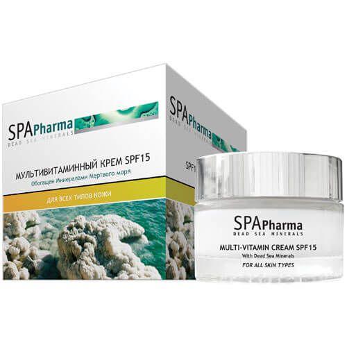 Мультивитаминный крем для лица SPF15 SpaPharma (Спа Фарма) 50 мл